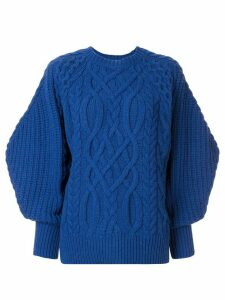 Enföld cable knit jumper - Blue
