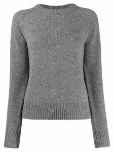 Wood Wood round neck jumper - Grey