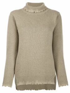 Avant Toi roll neck sweater - NEUTRALS