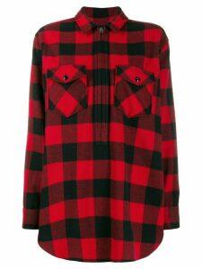 Woolrich buffalo print shirt - Black