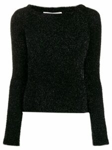 Philosophy Di Lorenzo Serafini off-shoulder knit sweater - Black