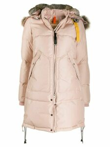 Parajumpers hooded down parka coat - Pink