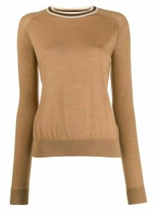 Golden Goose slim-fit raglan-sleeves pullover - NEUTRALS