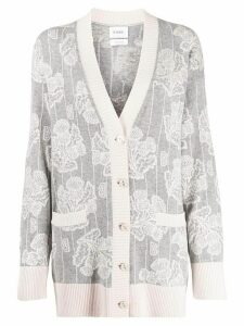 Barrie V-neck cashmere cardigan - Grey
