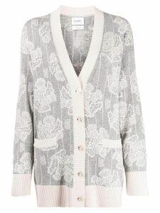 Barrie V-neck cashmere cardigan - Grey