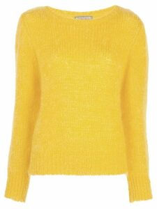 Alexa Chung brushed wool sweater - Yellow