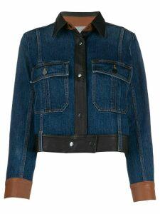 FRAME panelled jacket - Blue