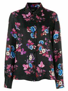 Pinko floral print shirt - Black