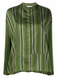 Maison Rabih Kayrouz striped blouse - Green
