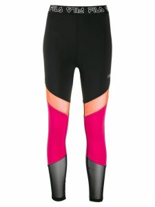 Fila colour blocked leggings - Black