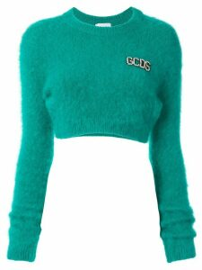 Gcds cropped jumper - Green