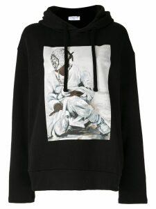 Ih Nom Uh Nit painting print hoodie - Black