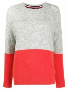Tommy Hilfiger colour-block jumper - Grey