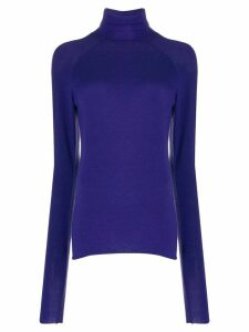 Haider Ackermann Delta turtleneck jumper - PURPLE