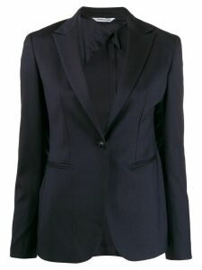 Tonello colour block blazer - Blue