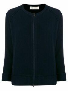 Lamberto Losani zip-front cashmere cardigan - Blue