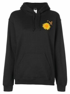 Callipygian Butterfly oversized hoodie - Black