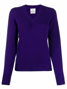 Barrie tone on tone jumper - PURPLE