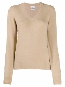 Barrie tone on tone jumper - NEUTRALS