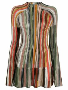 M Missoni graphic stripe jumper - NEUTRALS