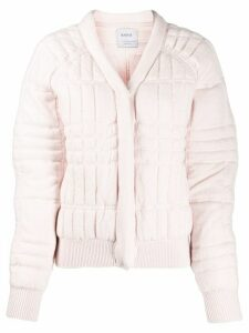 Barrie quilted bomber jacket - PINK