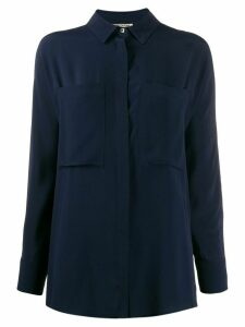 Semicouture chest pocket shirt - Blue
