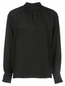 Nili Lotan Alana high-neck silk blouse - Black