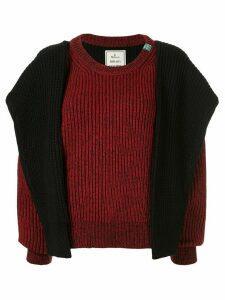 Maison Mihara Yasuhiro knitted jumper - Black