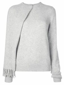 Proenza Schouler draped jumper - Grey