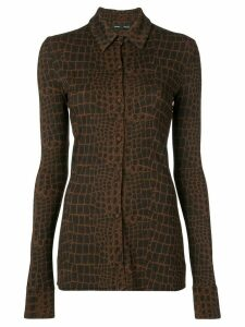 Proenza Schouler snake-print top - Brown