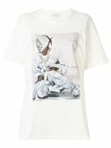 Ih Nom Uh Nit painting print T-shirt - White