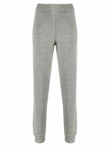 Theory whipstitch track trousers - Grey