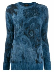 Avant Toi knitted jumper - Blue