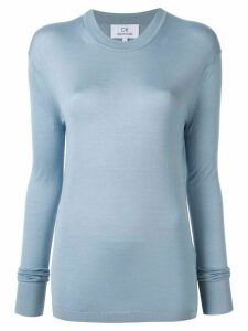 CK Calvin Klein lightweight silk top - Blue