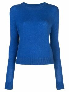The Elder Statesman Tranquility crew neck sweater - Blue