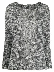 Snobby Sheep metallic knit jumper - Black