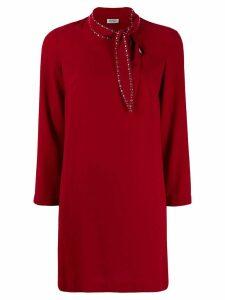 LIU JO embellished shift dress - Red