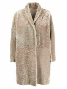 Salvatore Santoro oversized coat - NEUTRALS