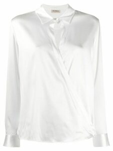 Blanca Vita cross body blouse - White