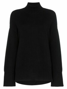 FRAME roll neck jumper - Black