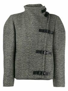 Isabel Marant Nate oversized buckled jacket - Grey