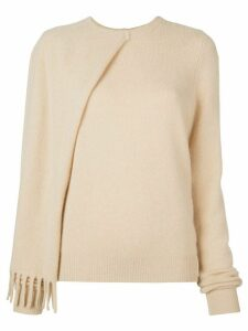 Proenza Schouler cashmere draped jumper - Brown