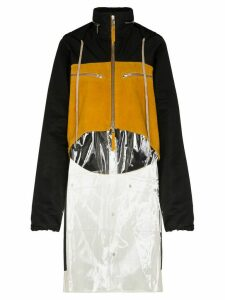 Duran Lantink panelled rain coat - Yellow
