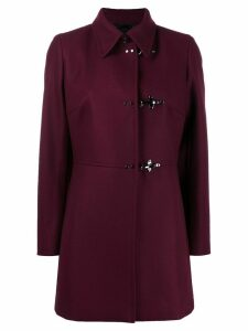 Fay side buckle coat - Red