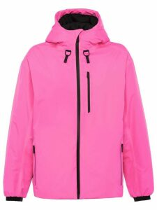 Prada long-sleeve hooded jacket - Pink