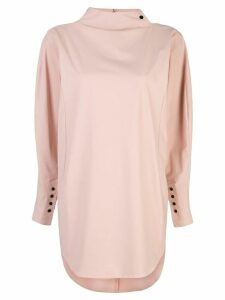 Toga funnel neck tunic top - PINK