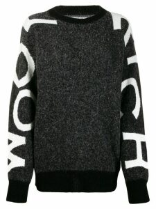 Woolrich logo embellished jumper - Black