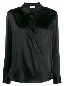 Blanca Vita cross body blouse - Black