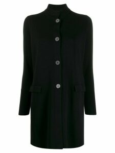 La Fileria For D'aniello mid-length cardigan - Black