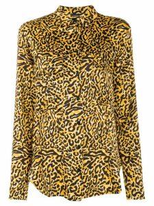 Andamane leopard-print shirt - Yellow